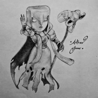 Concurso De Dibujo Clash Of Clans Antrax Votación