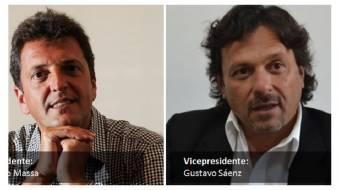 Sergio Massa - Gustavo Saenz (Frente Renovador)