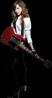 Porque no canta por cantar,canta por amor a la música y entrega lo mejor de sí,componiendo sus propias canciones.