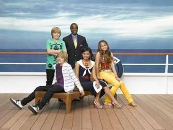 Zack y Cody todos a bordo