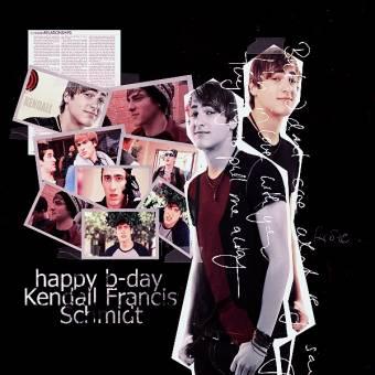 Feliz Cumple Años Kendall Schmidt de parte de todas y todos los Rushers