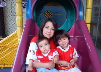 mis hermanitos y yo