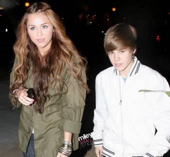 Miley Cyrus Y Justin Bieber