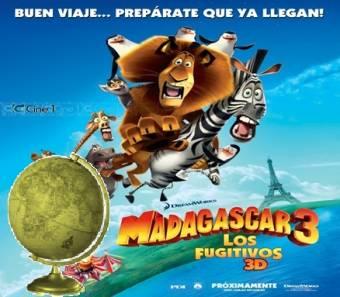 Mejor Film Animado del Año-(Madagascar 3: Los Fugitivos)