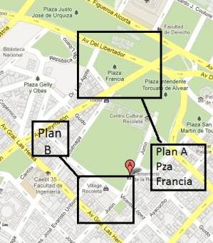 Plan B - Mc Donalds de Village Recoleta / Locos x el Futbol / Hard Rock Cafe