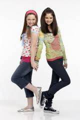 Jennifer Stone y Selena Gomez de Los Hechiceros de Waverly Place