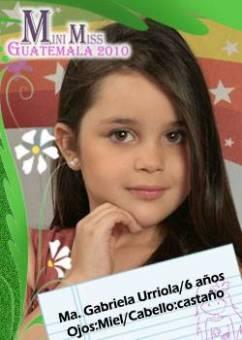 GUATEMALA SUR - MARÍA GABRIELA URRIOLA