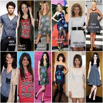 Selena copia a todos