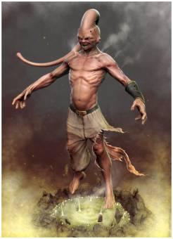 Es es muy poderoso, es una criatura creador por bavidi