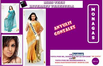 Miss Teen Internet Monagas-Anyulis Gonzales
