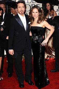 Susan, esposa de Robert Downey Jr.(el que está al lado)
