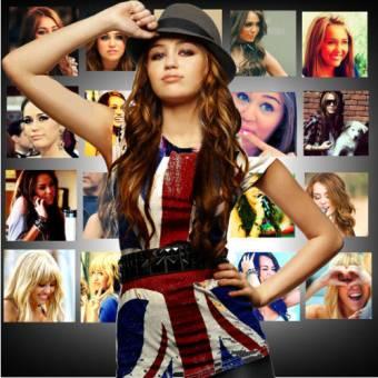 Miley Cyrus¡¡¡ es la mejor mas original y unica.