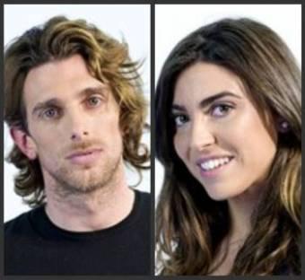 Piero y Melania
