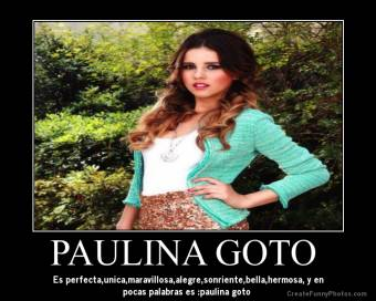 PAULINA GOTO FAN #1