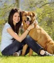El perro de Selena Gómez