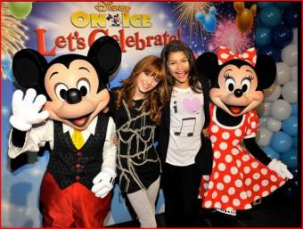 Que si Bella y Zendaya son muy infantiles porque les gusta minnie y mickey mouse, pues a cada uno le gusta una cosa, a mi tambien me encantaria conocer a minnie y mickey mouse jejeje