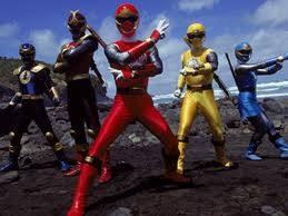 power rangers tormenta ninja