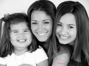 hermanas de demi