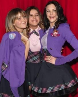 Natasha Dupeyron, Paulina Goto y Macarena Achaga