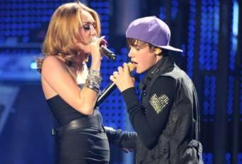 Miley y justin b