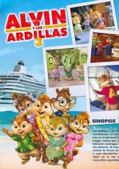Película favorita: Alvin y las ardillas 3