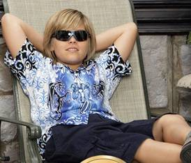 Dylan Sprouse (Zack y Cody) 12 años