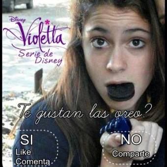 violetta maquillaje